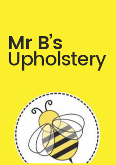 Mr Bs Upholstery Business Logo